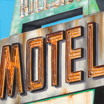 Motel by Kellie Talbot