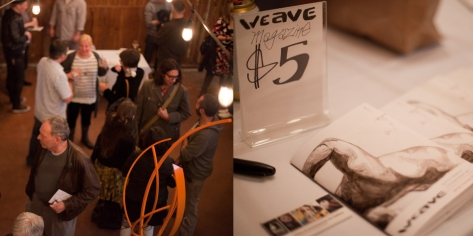 Official WEAVE Magazine release party. Photography by Kari Champoux