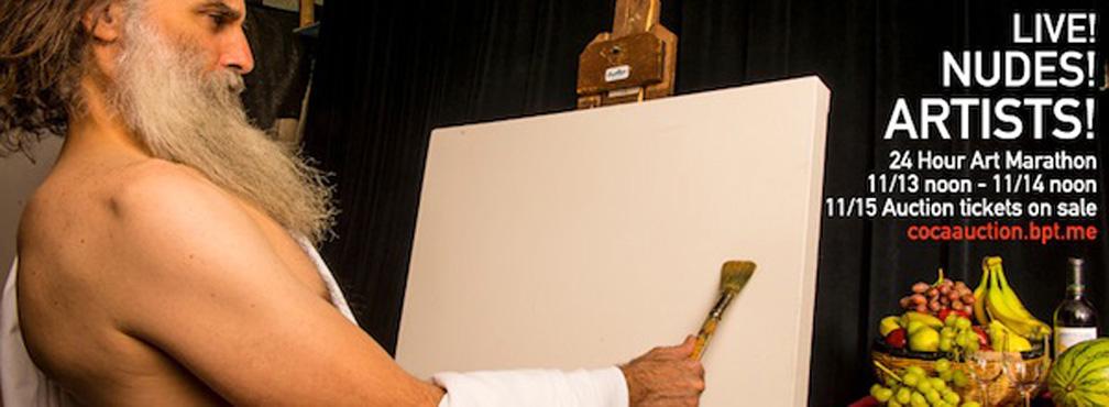 CoCA_24-Hour_Art_Marathon__Auction_2014